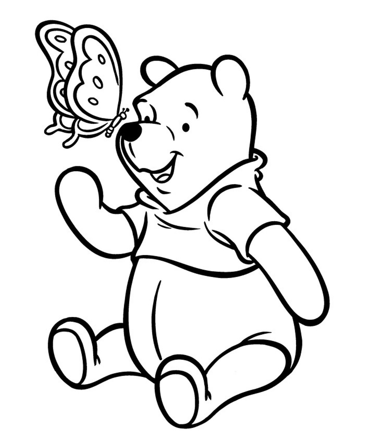 1260x1517 Lovely Classic Pooh Bear Coloring Pages Given Amazing Article