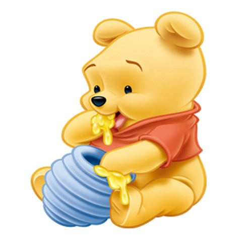500x499 Baby Clipart Winnie The Pooh Character
