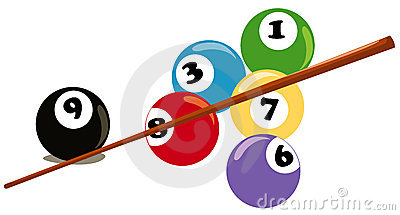 400x215 Billiard Ball Clipart Pool Sticks