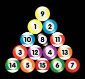 170x159 Clipart Of Billiard Balls