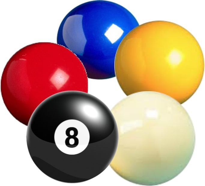 683x622 Pool Amp Snooker Balls