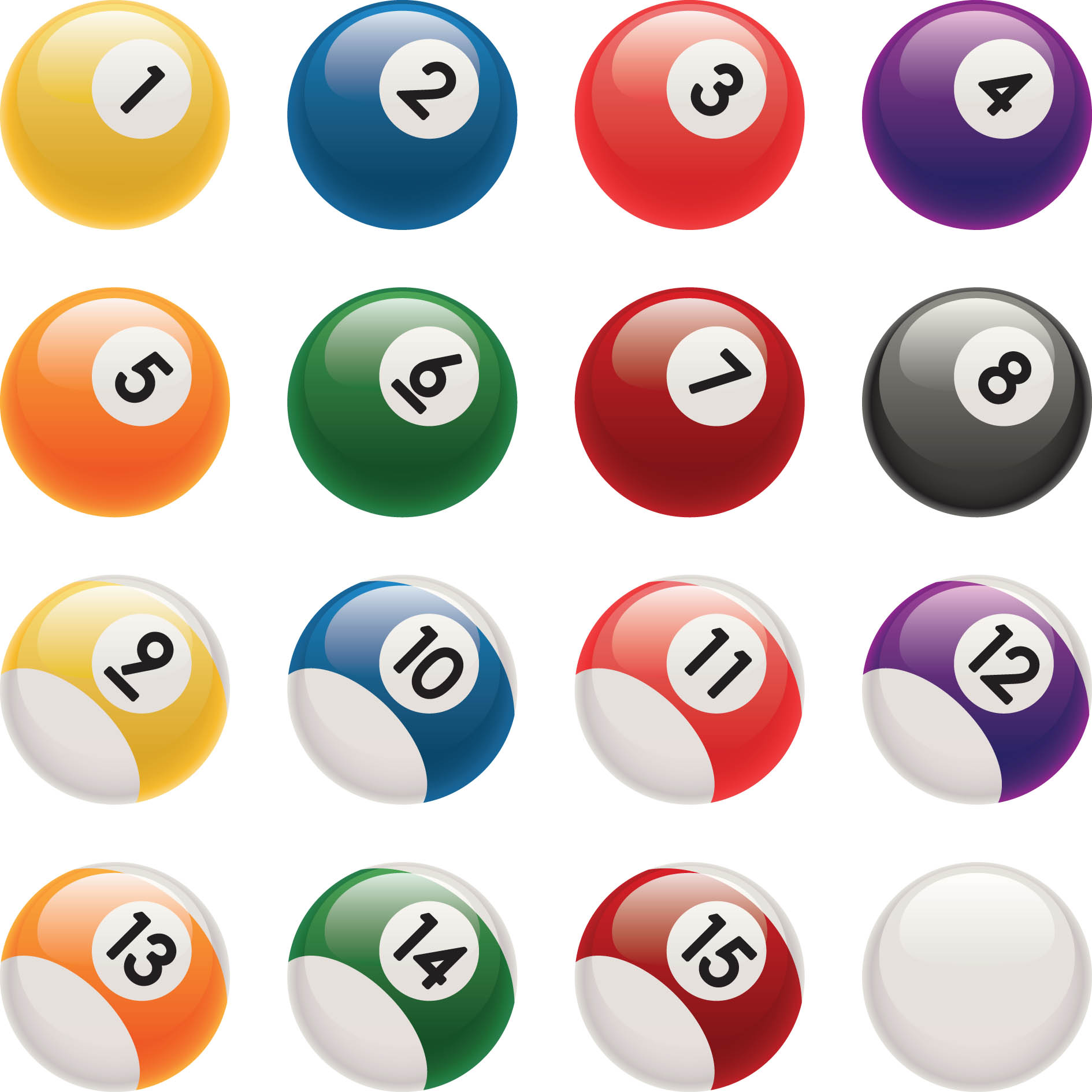 1890x1890 Pool Ball Clipart
