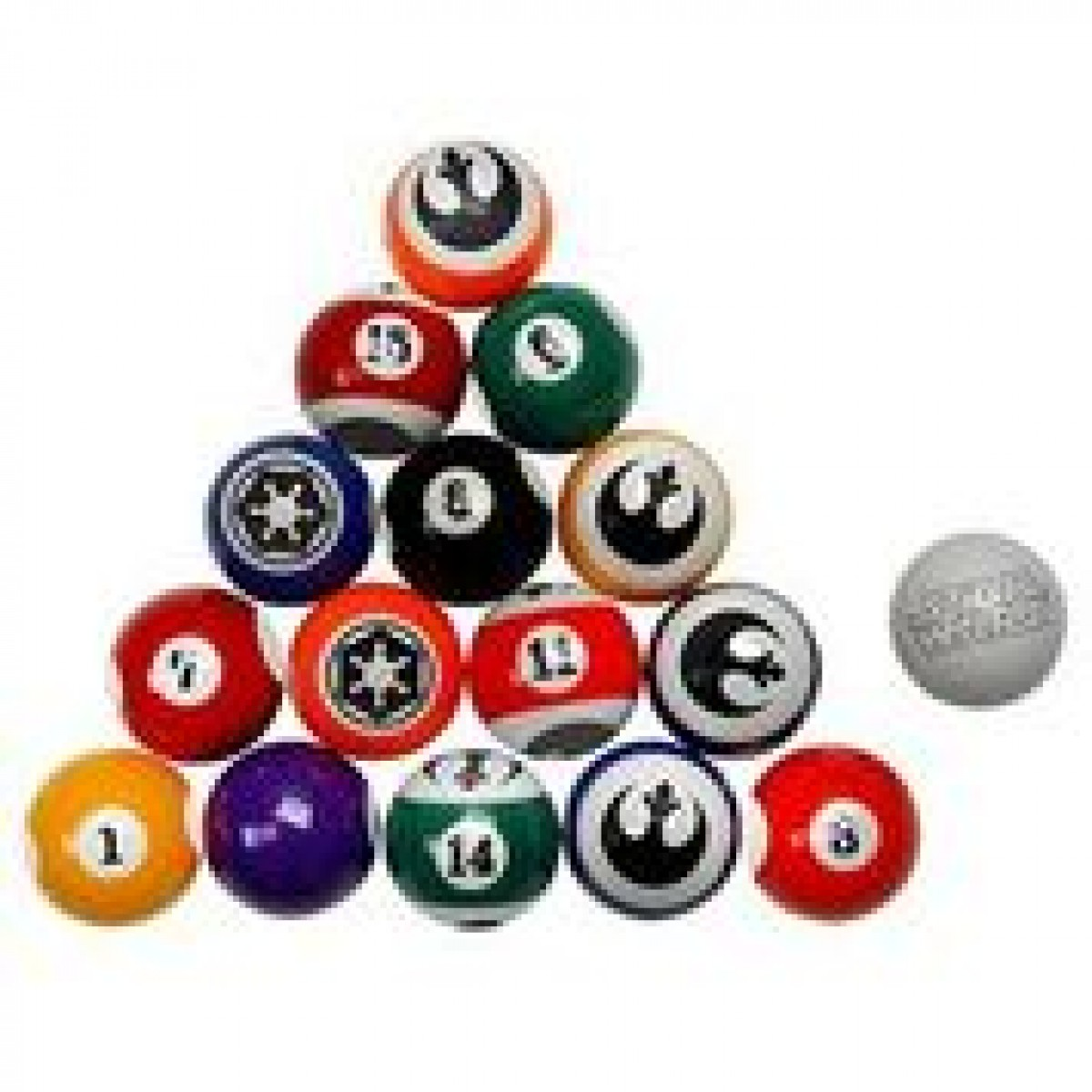 1200x1200 Star Wars Pool Balls