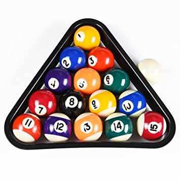 355x355 Tampr Sports Usa Mini Pool Balls Set, 1.5 Inch Billiard