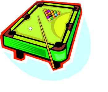 350x299 Pool Table Pictures Clip Art