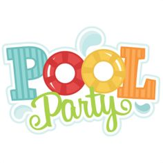 236x236 Pool Party Free Clipart