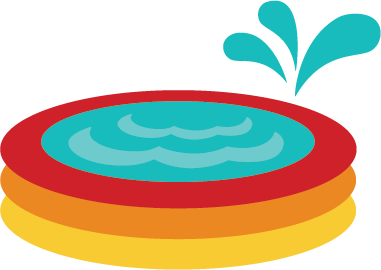 381x270 Floating Clipart Baby Swimming
