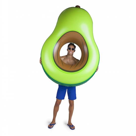 550x550 Giant Avocado Pool Float