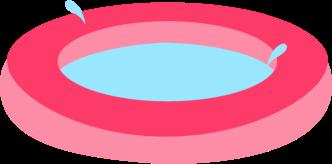 332x164 Pool Clipart Transparent