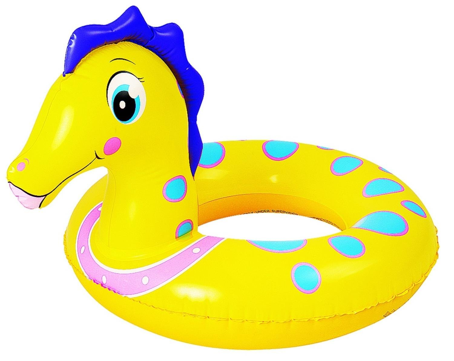 1500x1193 Pool Central 24 Yellow And Blue Seahorse Children'S