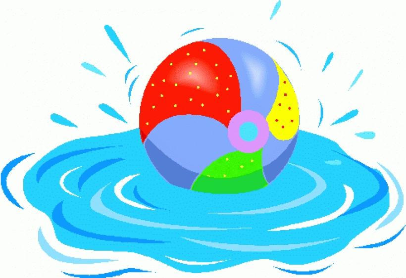 820x562 Floating Clipart Summer Splash