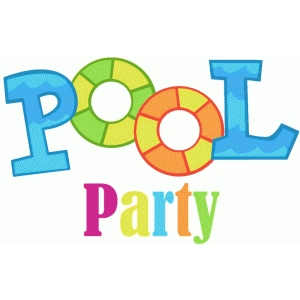 Pool Party Clipart Free Download Best Pool Party Clipart