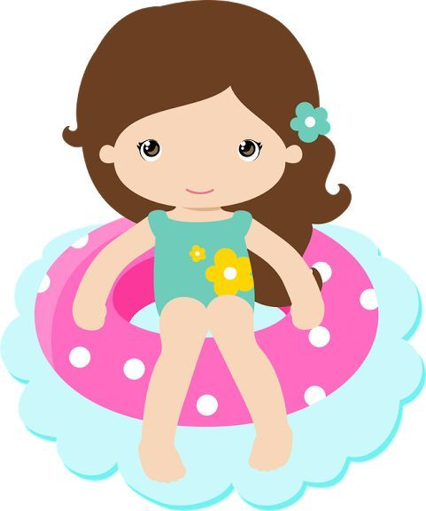 Pool Party Clipart Images