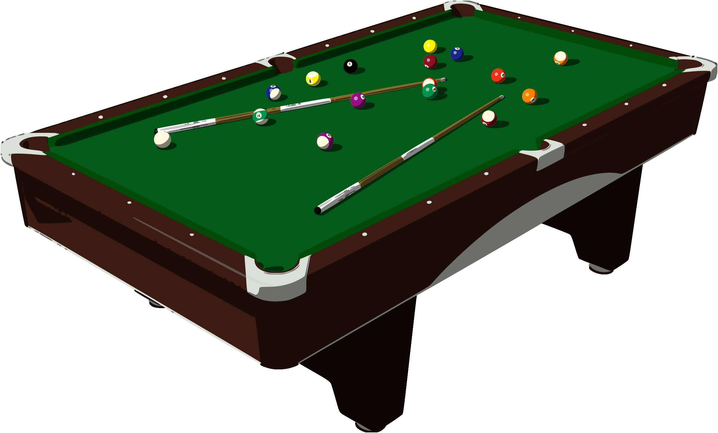 Pool table clipart free download best pool table clipart - Pool table images ...