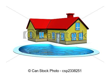 450x301 Pool Clipart House