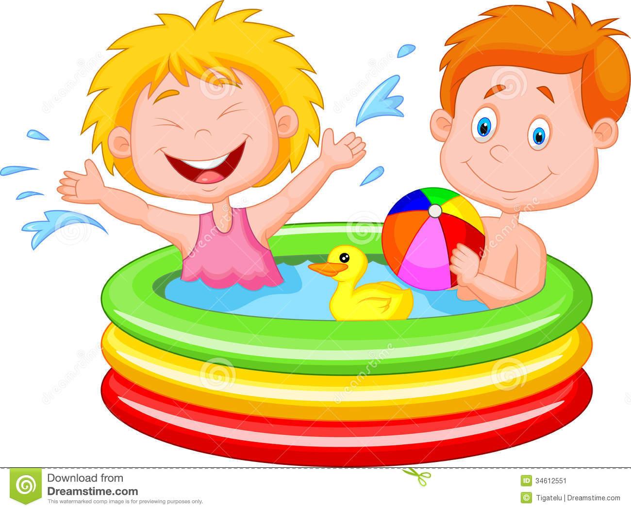 1300x1053 Children Swimming Pool Clipart