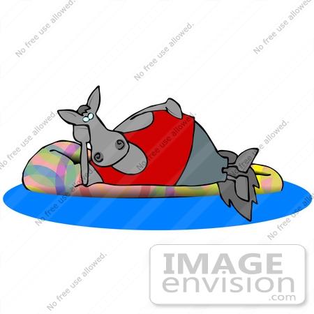 450x450 Cliprt Graphic Of Lazy Horse Relaxing Onn Inner Tube In