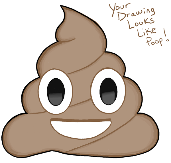 600x572 How To Draw A Pile Of Poop Emoji With Easy Steps Drawing Tutorial