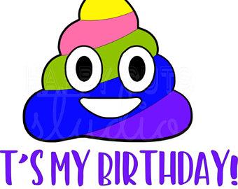 340x270 Birthday Poop Emoji Etsy