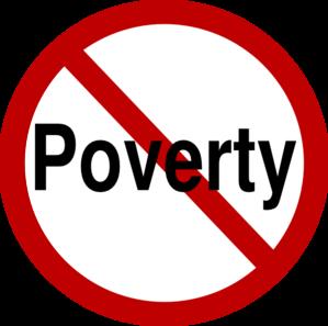 299x297 No Poverty Clip Art