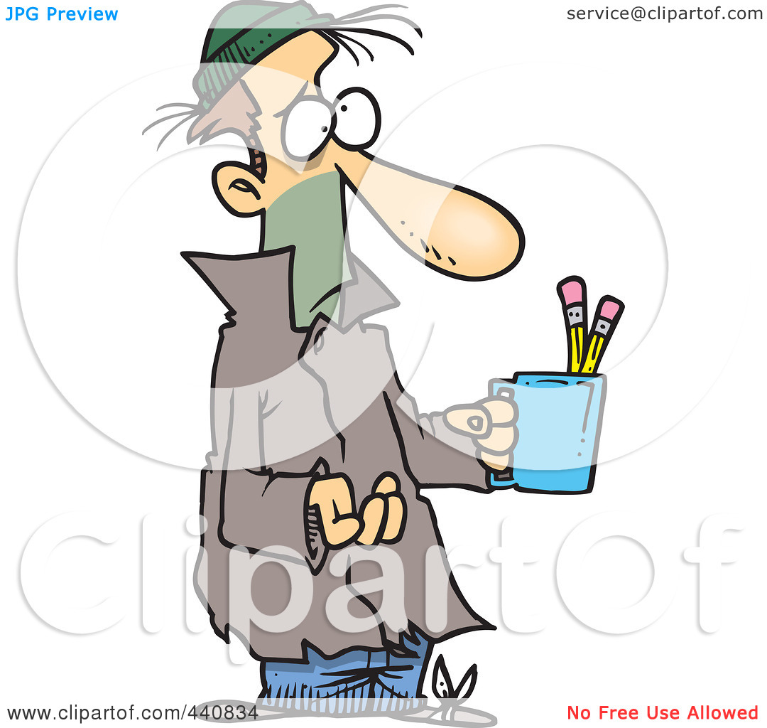 1080x1024 poor people clipart Royalty Free RF Clip Art Illustration Of A