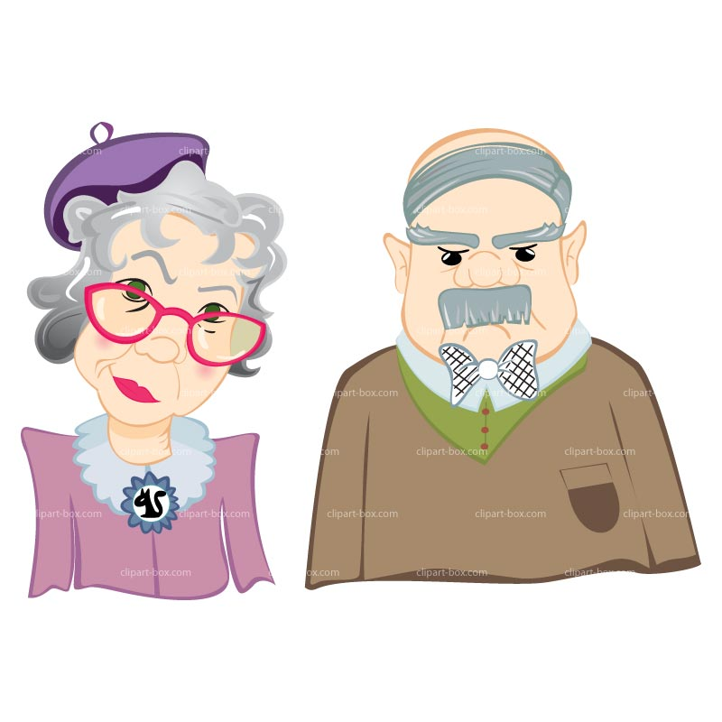800x800 Old Man Old People Clipart
