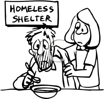 350x334 Poor Shelter Clipart