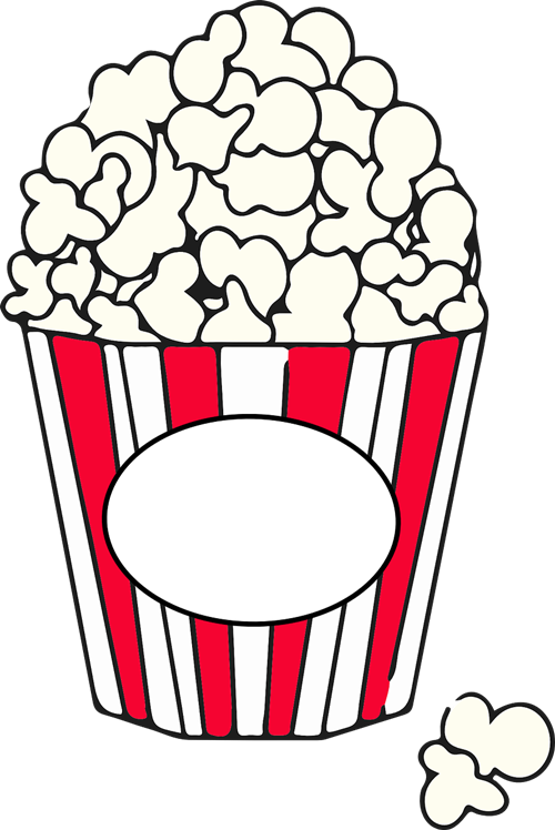 500x748 Popcorn Free To Use Clipart 2