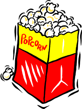 266x350 Clipart Of Popcorn