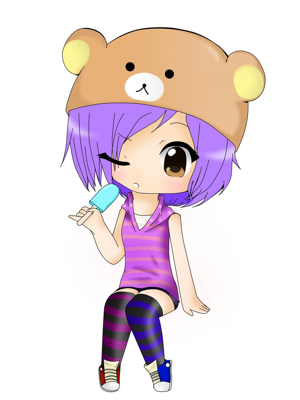 1024x1365 Popcicle Chibi Girl By Maddietheshy