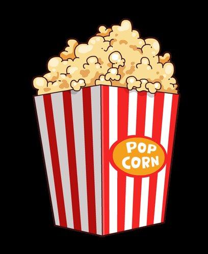 408x499 Ideal Popcorn Clip Art