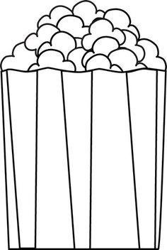 236x352 Popcorn Bucket Clip Art Food Popcorn Bucket