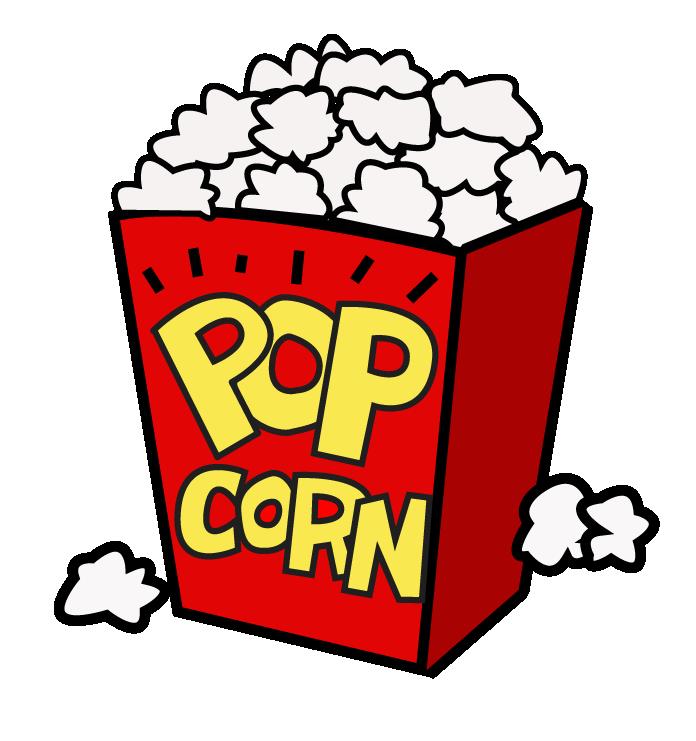 696x741 Popcorn Black And White Popcorn Clip Art Free