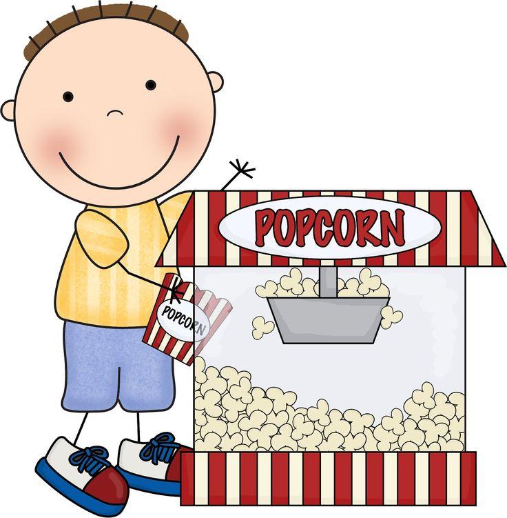 736x751 Popcorn Clipart Movie Day