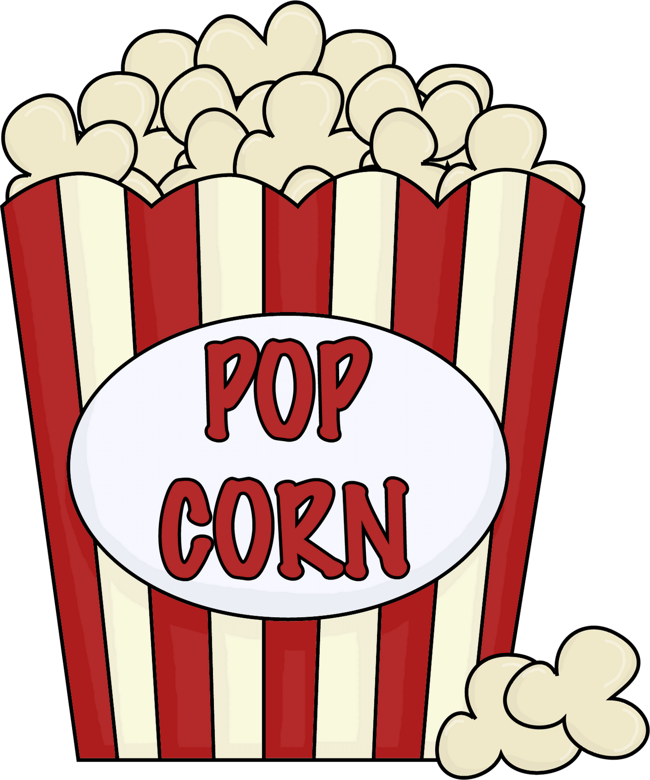 1334x1600 Single Popcorn Cliparts 258108