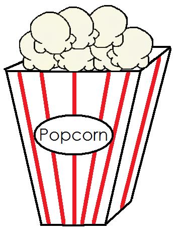 360x472 Free Popcorn Clip Art