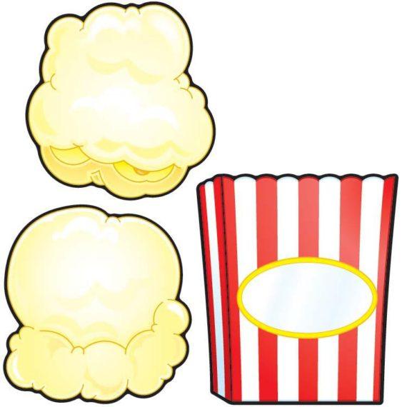 570x570 Popcorn Outline Clipart
