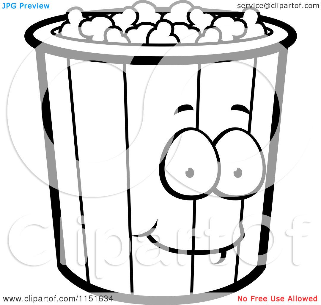1080x1024 Free Printable Popcorn Clipart