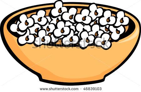 450x295 Popcorn Bowl Clipart