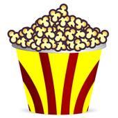 170x170 Popcorn Bucket Clip Art