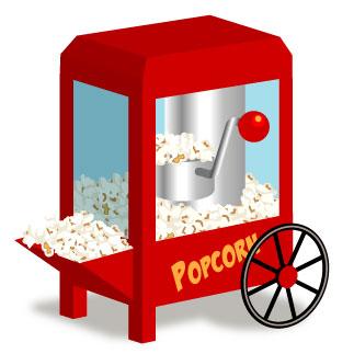 323x323 Popcorn Clip Art Free Clipart Images 3