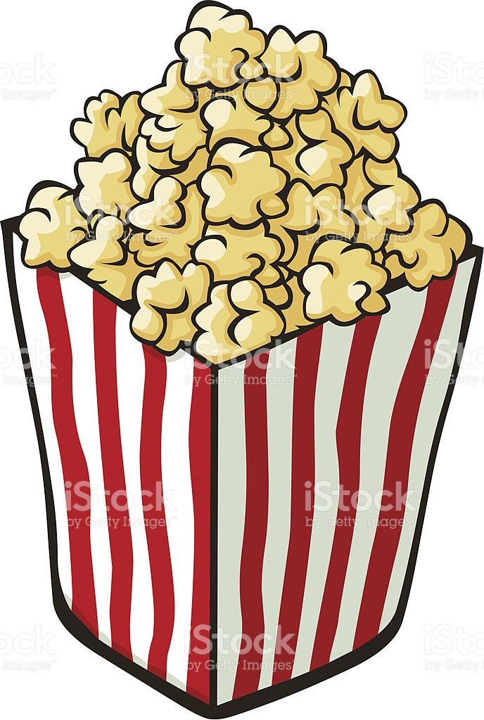 688x1024 Popcorn Clipart Carton