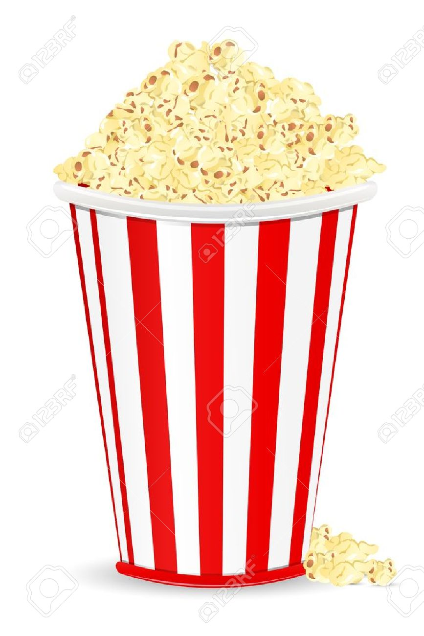 867x1300 2,727 Popcorn Bucket Stock Vector Illustration And Royalty Free
