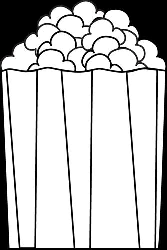 335x500 White Popcorn Cliparts
