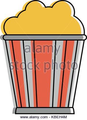 300x416 Popcorn Bucket Icon Image Stock Vector Art Amp Illustration, Vector