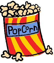 218x255 Clipart Of Popcorn