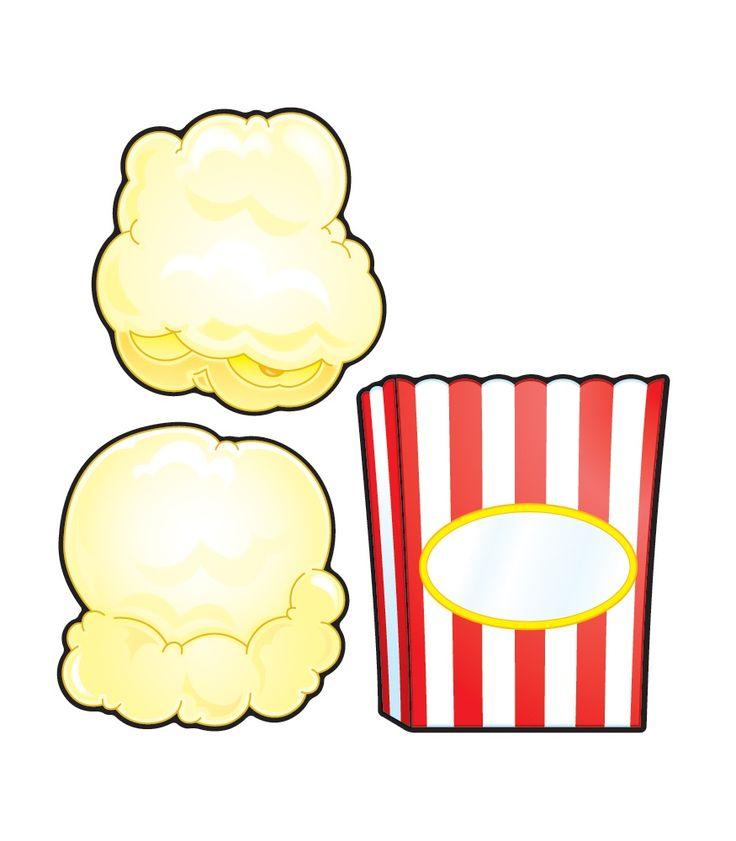 Popcorn Box Clipart