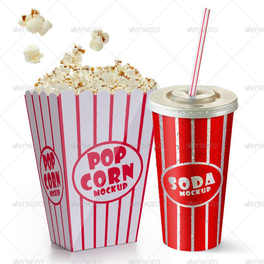 900x900 Photoshop Clipart Popcorn