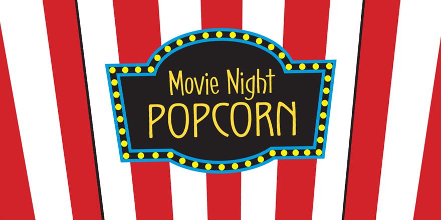 880x440 Popcorn Box Template