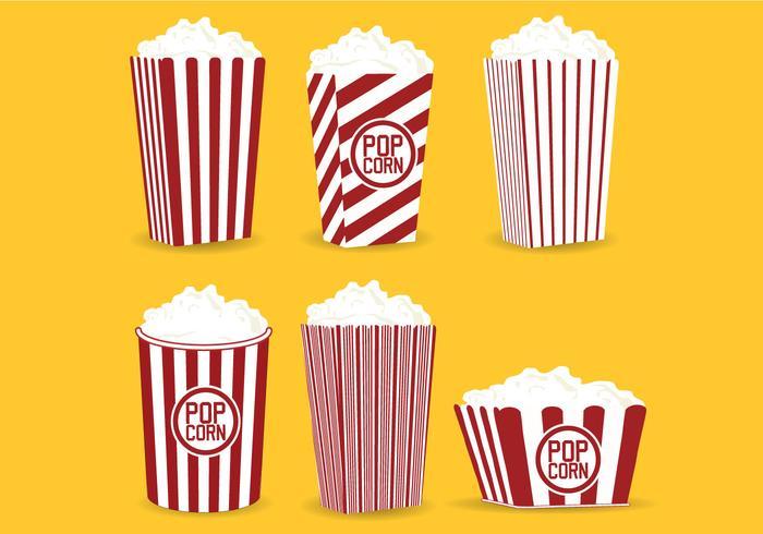 700x490 Popcorn Box Vector
